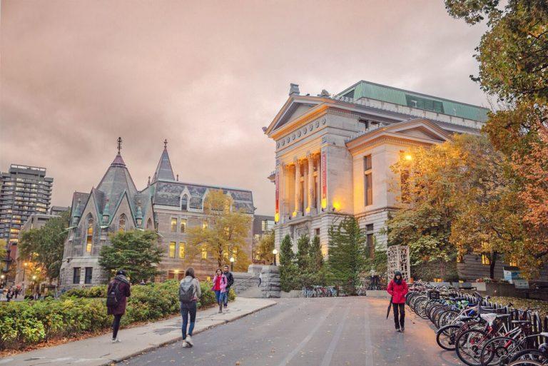 دانشگاه مگ گیل کانادا